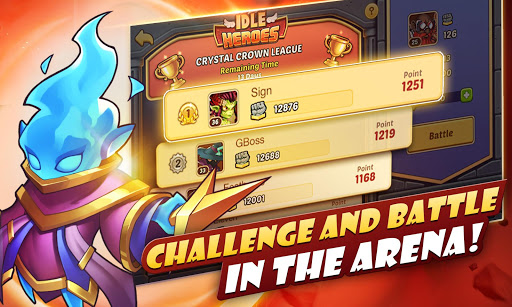 Idle Heroes game (apk) free download for Android/PC/Windows screenshot