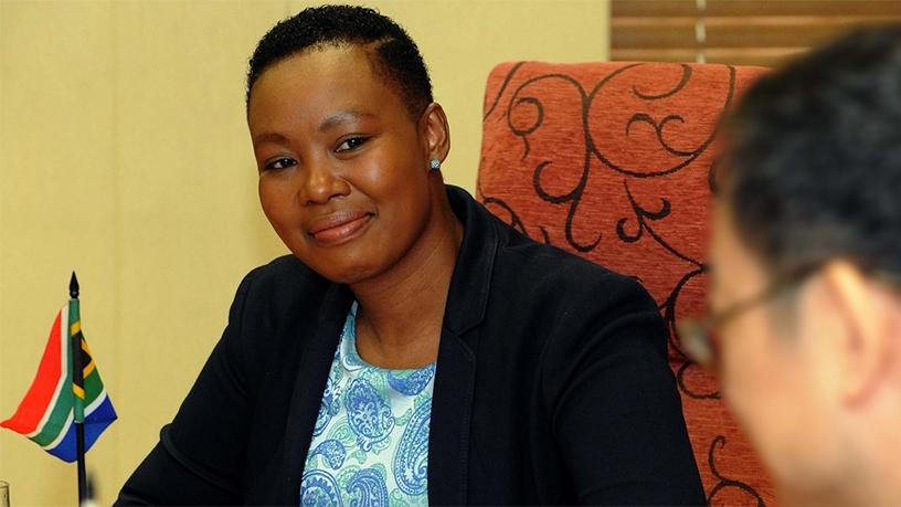 Communications minister Stella Ndabeni-Abrahams. (Photo source: GCIS)