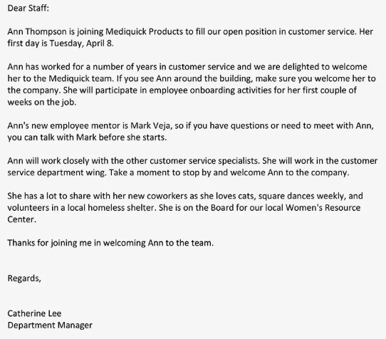 Letter To Customers Announcing Change In Management from lh3.googleusercontent.com