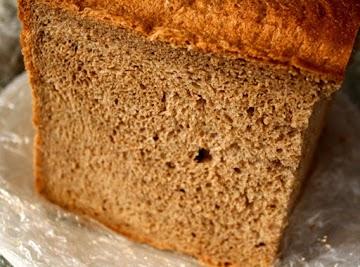100% Whole Wheat Bread In A Bread Machine Recipe
