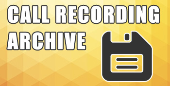 Call Recording Archive Banner
