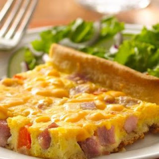 Ham and Egg Crescent Bake