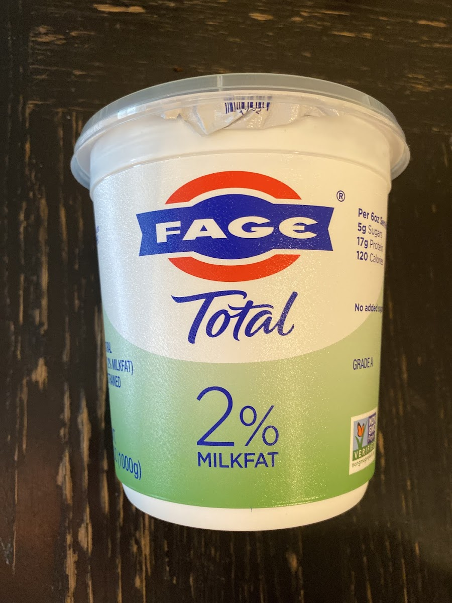 Total 2%, Lowfat Greek Strained Yogurt