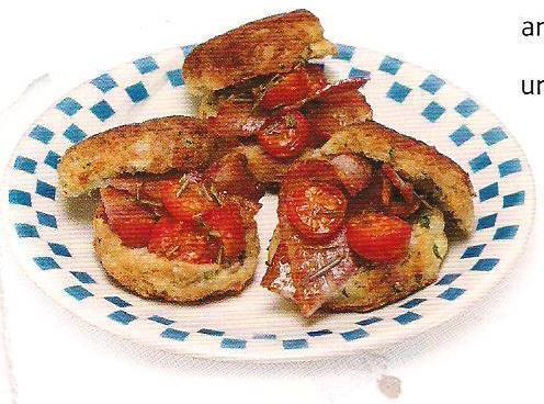 Parsley Potato Hotcakes With Bacon Recipe