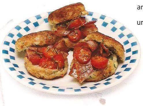 Parsley Potato Hotcakes With Bacon