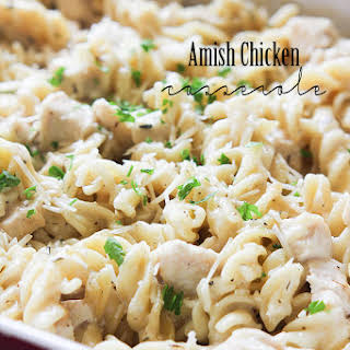 Amish Chicken Casserole.