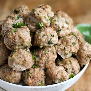 All Purpose Turkey Meatball.