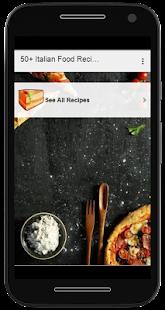 50+ Italian Food Recipes - náhled