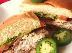 Venison Burgers With Cheese And Jalapenos Recipe