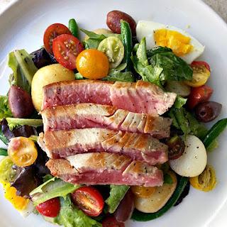 Seared Ahi Tuna Nicoise Salad