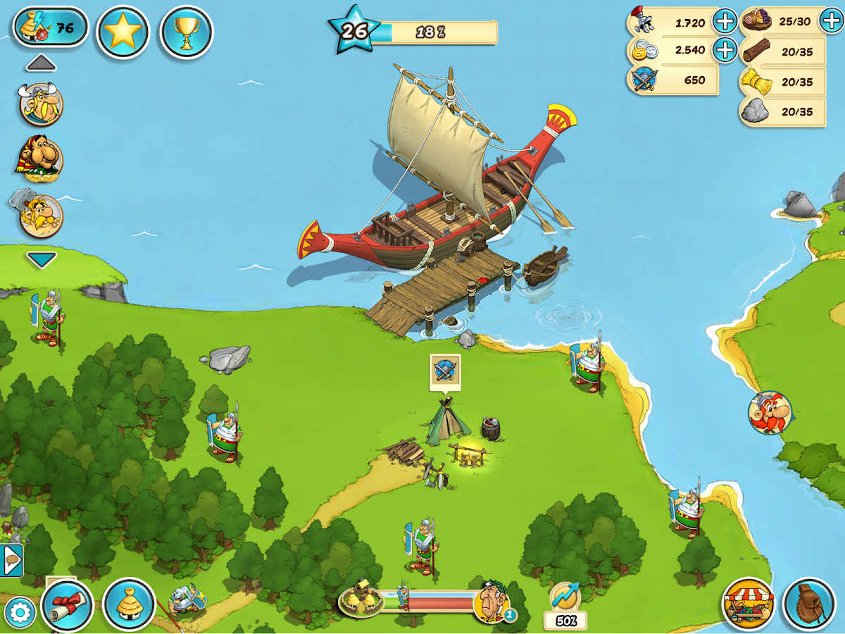 Asterix and Friends- screenshot