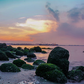 Punggol beach  by Smallay Twins - Landscapes Beaches