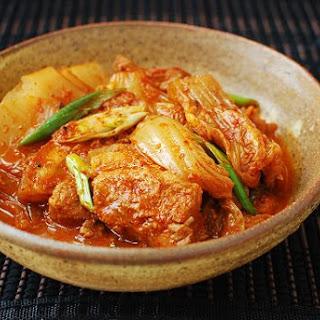 Kimchi Jjim (Braised Kimchi) Recipe