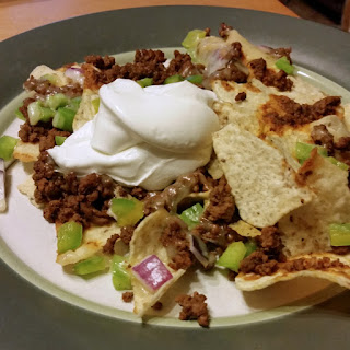 Loaded Oven Nacho