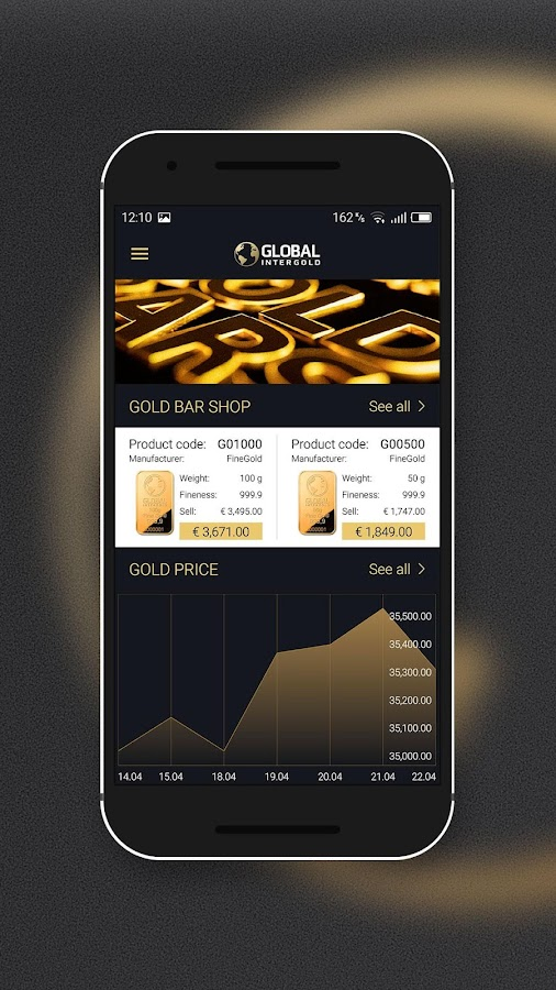 Global InterGold- screenshot