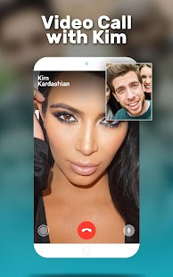 Video Call from Kim kardashian - náhled