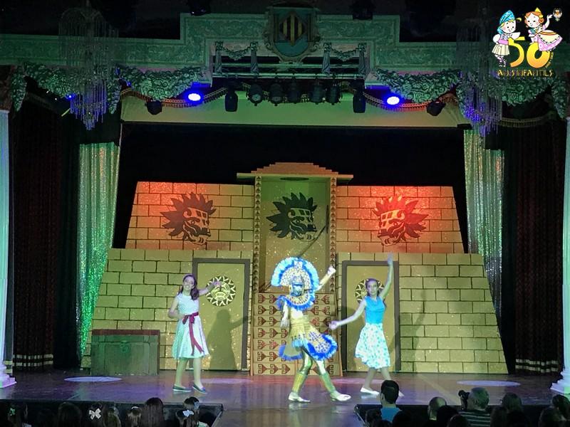 """El """"Oro de midas"""", brilló sobre el escenario"""