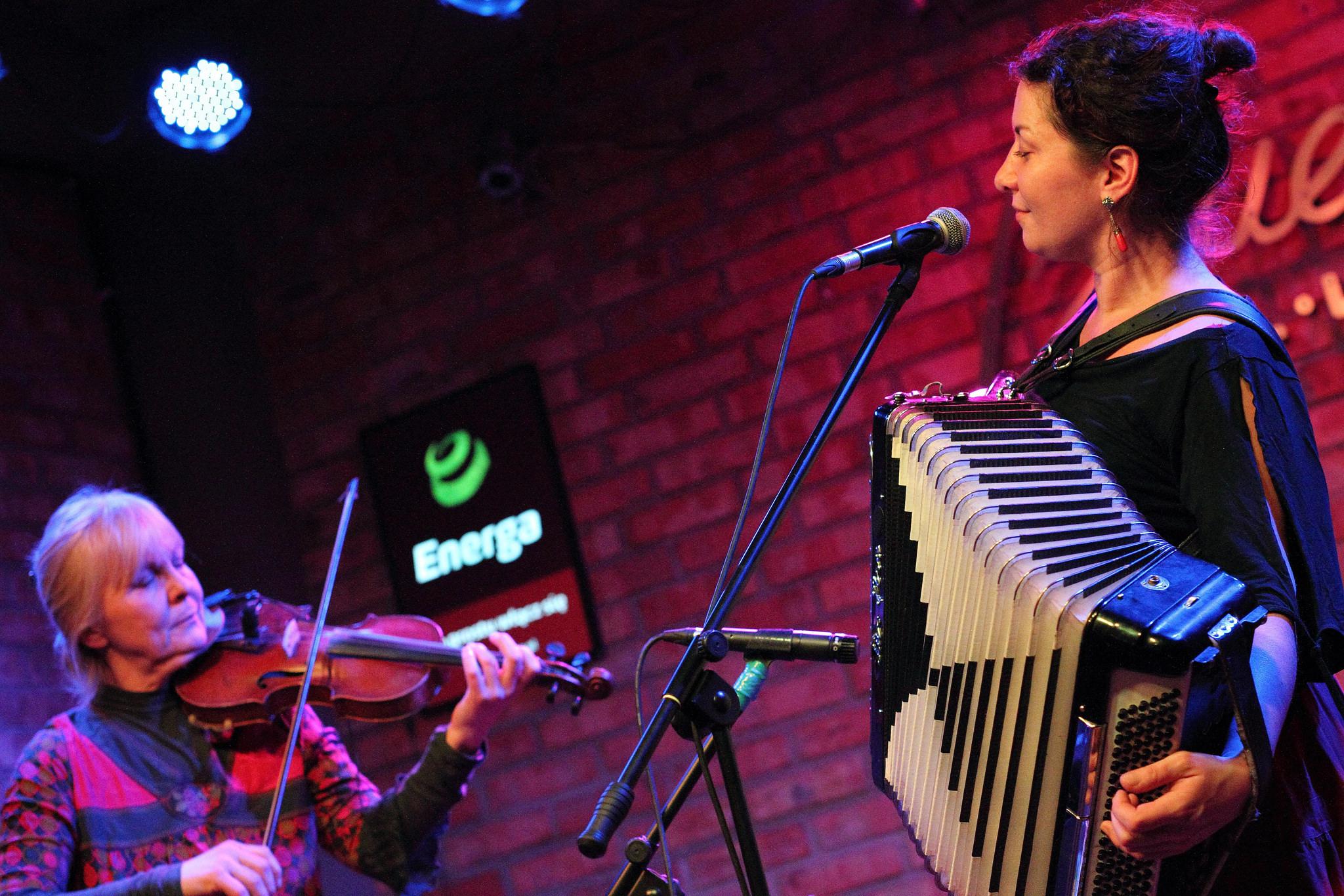 Photo: Kapela Jazgodki duo - Przystanek Wagabundy, Blues Club Gdynia, 14.12.2015; fot. Tomek Wilary