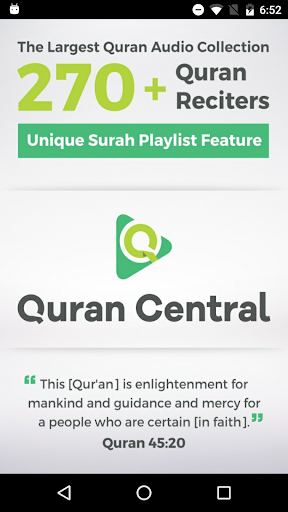 quran central screenshot 1