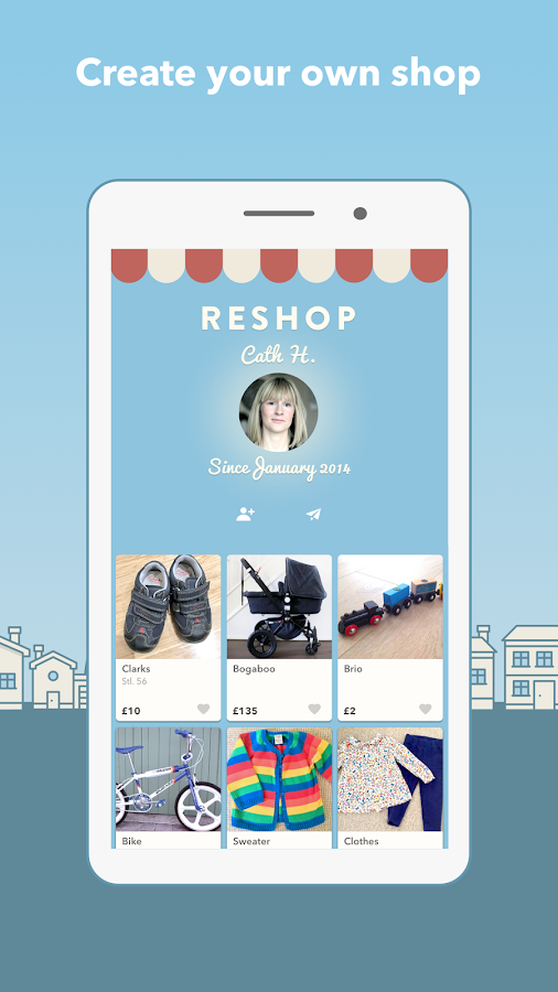 Reshopper - Buy and sell second hand for kids- screenshot