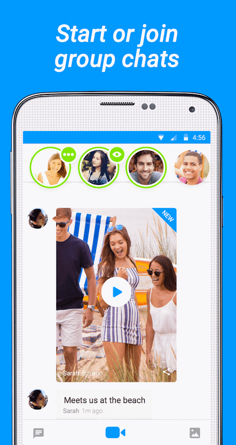 Glide - Video Chat Messenger - screenshot