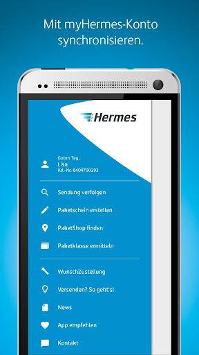 Hermes Paket Versand & Empfang 6.9.1 screenshots 1