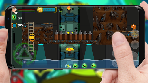 Alien Cannonbolt Ben TEN Adventure 2.0 screenshots 2