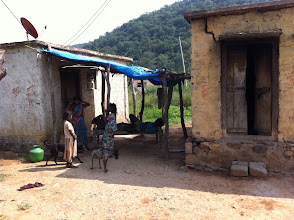Photo: A chenchu house at Ayyannakunta Village.