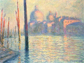 "Photo: Claude Monet, ""Venezia - Il Canal Grande"""