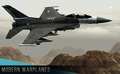 Modern Warplanes: Thunder Air Strike PvP warfare  trampa 6