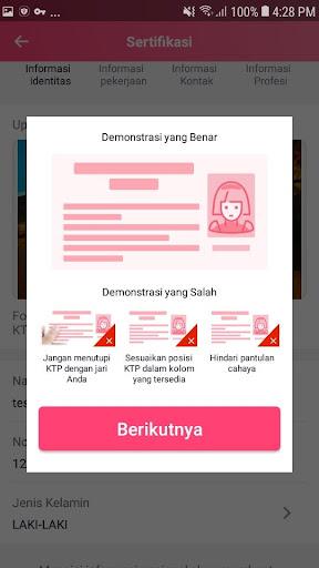 ALI Uang - Pinjaman Uang Tunai Mudah Flash Cepat screenshot 2