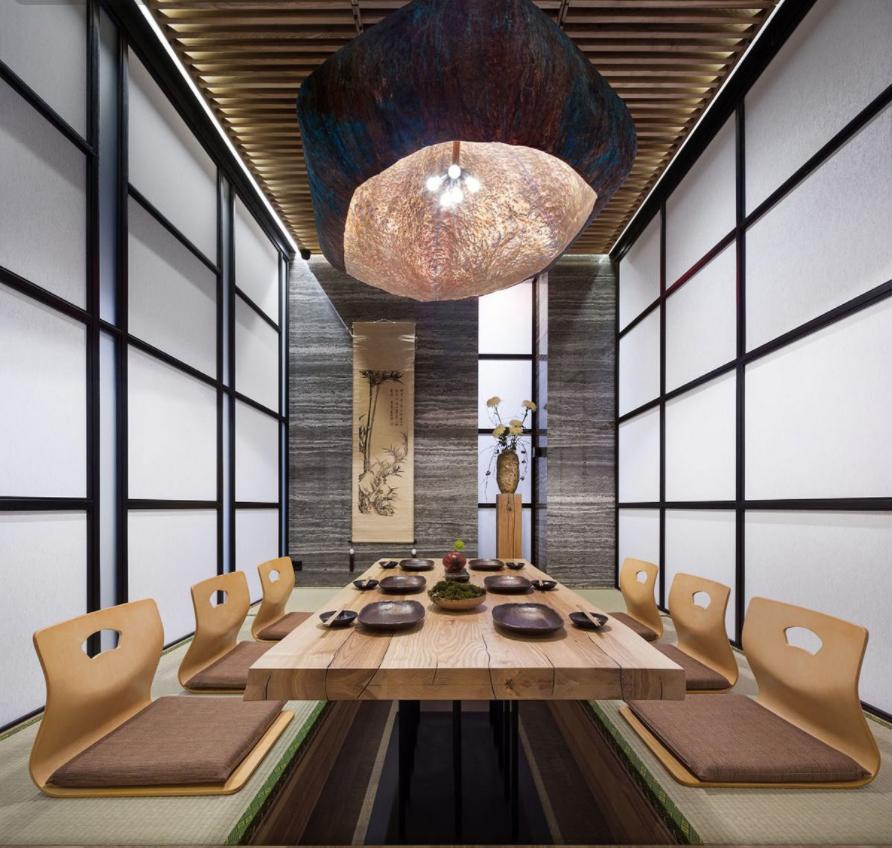 Thiết kế nhà hàng Nhật Bản diện tích 100-300m2