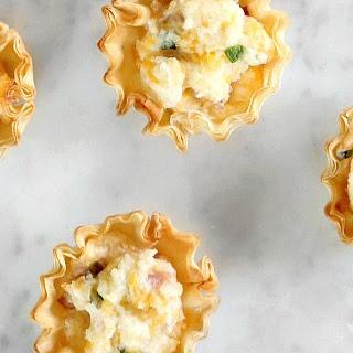 Ham & Cheese Phyllo Cups Recipe