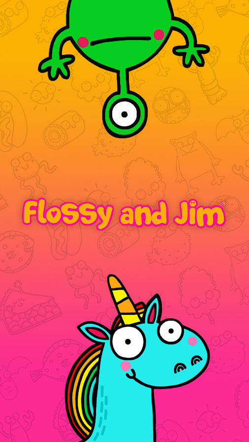 Flossy and Jim Lock Screen- screenshot