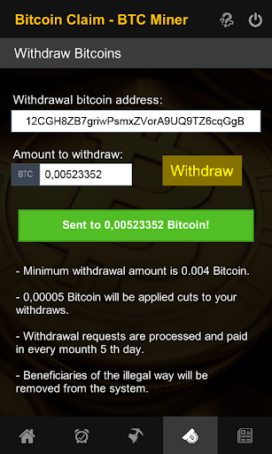 Bitcoin Free Claim - BTC Miner for PC