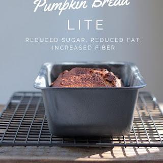 Pumpkin Bread Lite