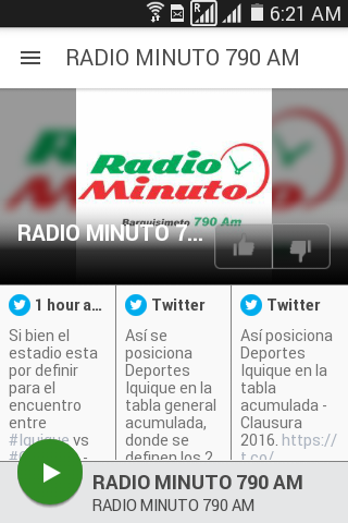 RADIO MINUTO 790 AM- screenshot