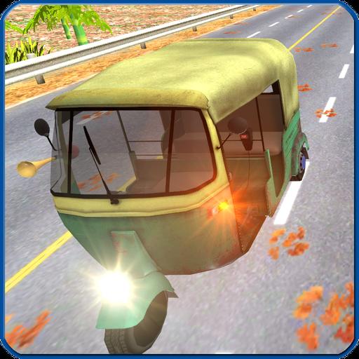 Tuk Tuk Highway Traffic Racer