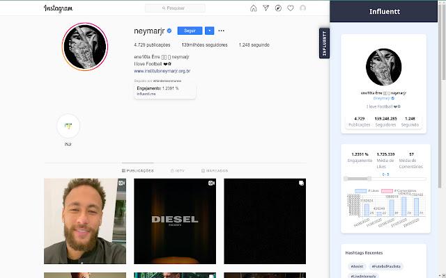 Influentt - Engajamento para o Instagram
