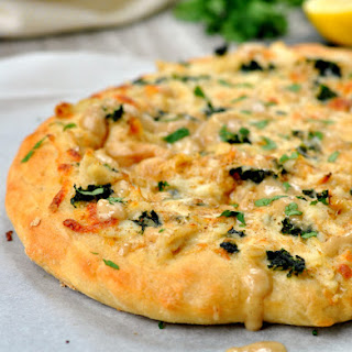 Creamy Crab Pizza Recipe