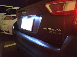 インプレッサ スポーツ GT6 2.0i-Sのランプのカスタム事例画像 wadama610さんの2019年01月10日00:42の投稿