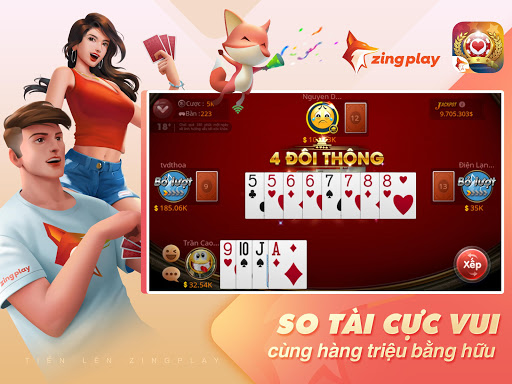 Tiu1ebfn lu00ean Miu1ec1n Nam - Tiu1ebfn Lu00ean - tien len - ZingPlay filehippodl screenshot 12