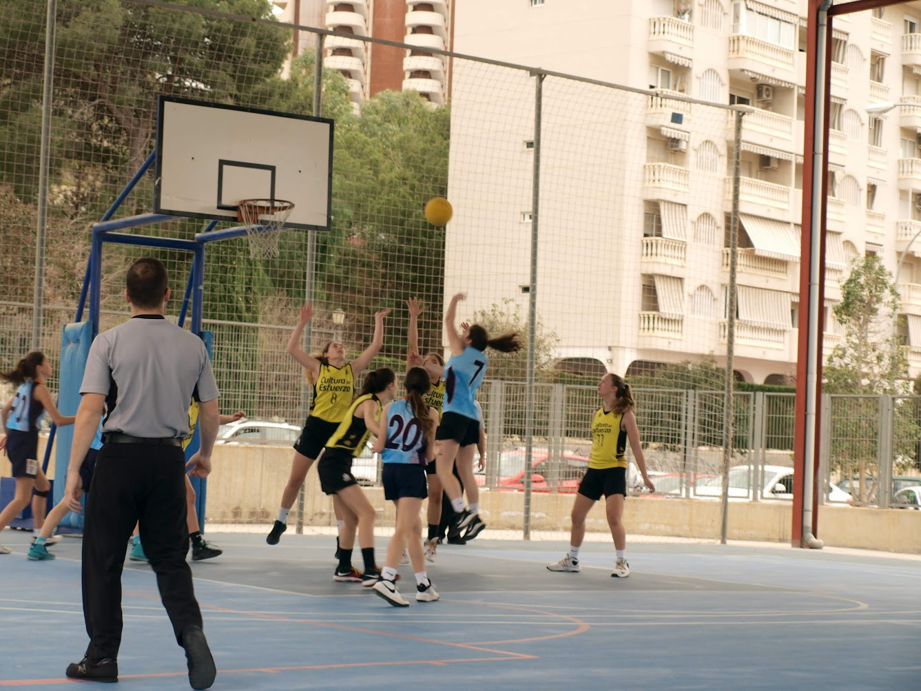 Sábado y domingo de basket
