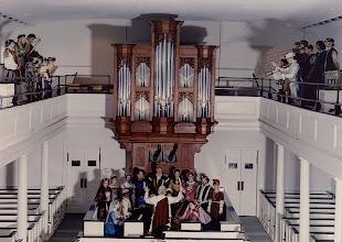 Photo: 1994; Cantores Musicæ Antiquæ + Early Music Ensemble, Jeffery Kite-Powell, director, at First Presbyterian Church, Tallahassee, Fl