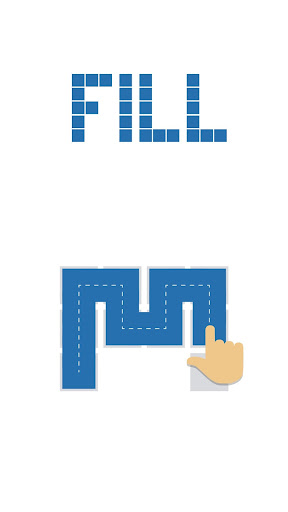 Fill - one-line puzzle game screenshots 4
