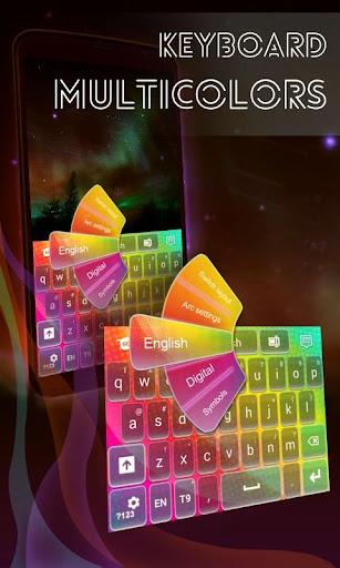 鍵盤Multicolors