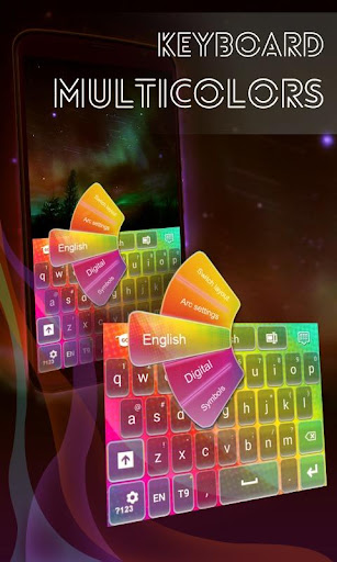 键盘Multicolors