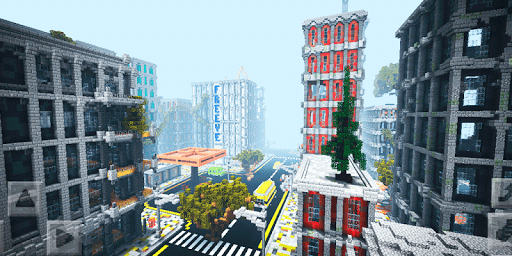 Apocalypse City. MCPE map app (apk) free download for Android/PC/Windows screenshot