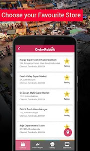OrderRabbit - Truly Hyperlocal screenshot 1