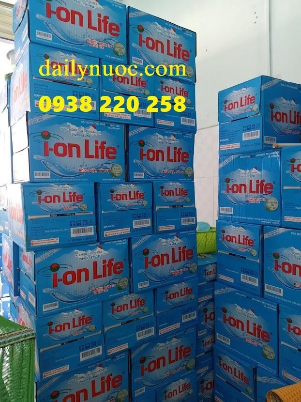 đại lý nước uống ion life 300ml